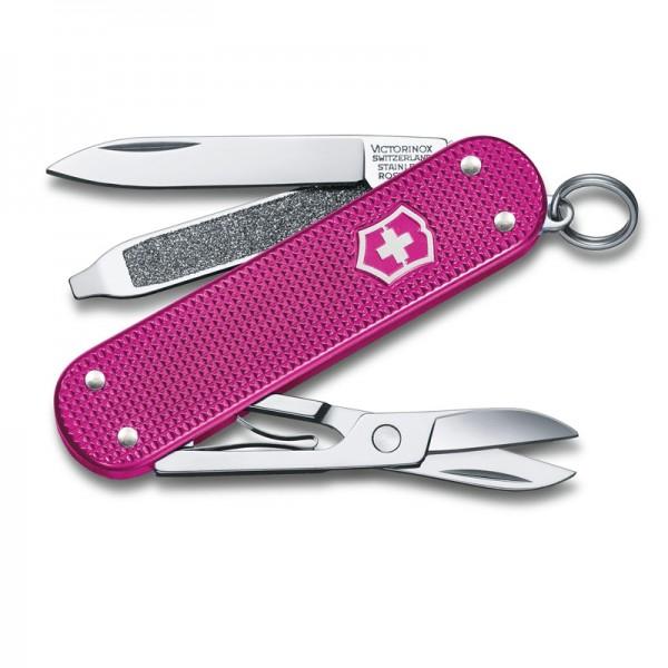 Victorinox Classic Alox Flamingo Party Multitool Pocket Knife 0.6221.251G