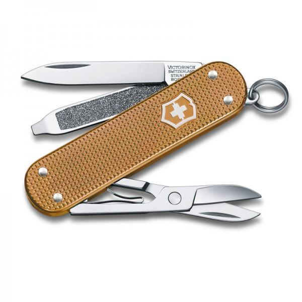 Victorinox Classic Alox Wet Sand Multitool Pocket Knife 0.6221.255G