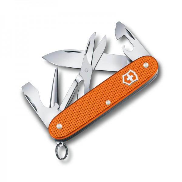 Victorinox Pioneer X Alox Limited Edition 2021 Tiger Orange Multitool Pocket Knife 0.8231.L21