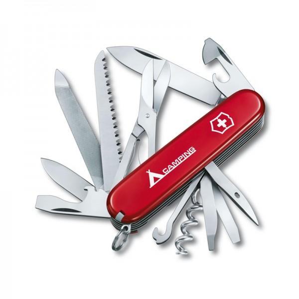 Victorinox Ranger Red Camping Multitool Pocket Knife 1.3763.71