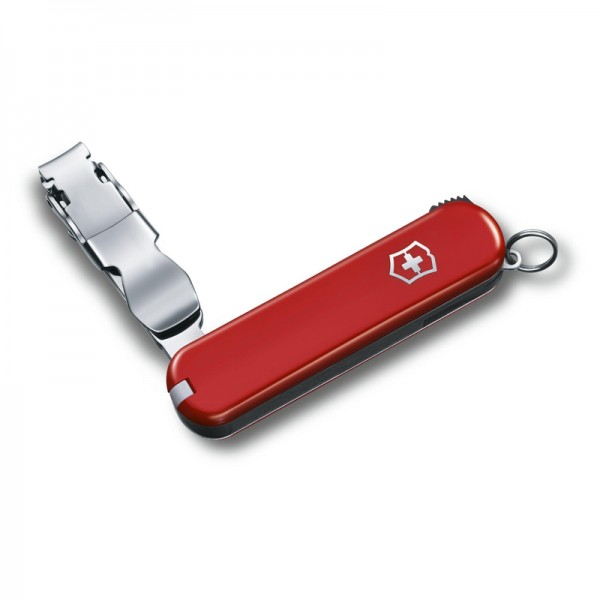 Victorinox Nail Clip 582 Nail Clipper Red Keychain 0.6453