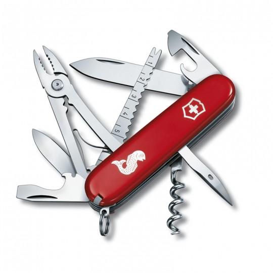 Victorinox Angler Red Fishing Pocket Knife Multitool 1.3653.72