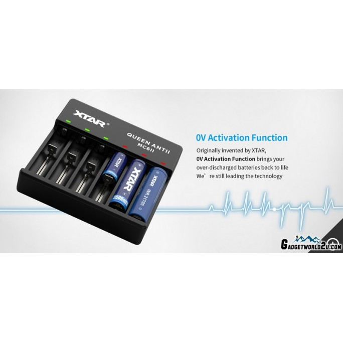 Xtar Queen Ant MC6II Lithium-ion Li-ion Battery Charger