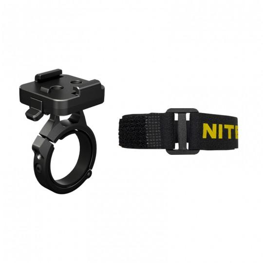 Nitecore Biking Accessories For HU60 Headlamp Bike Mount and Helmet Strap