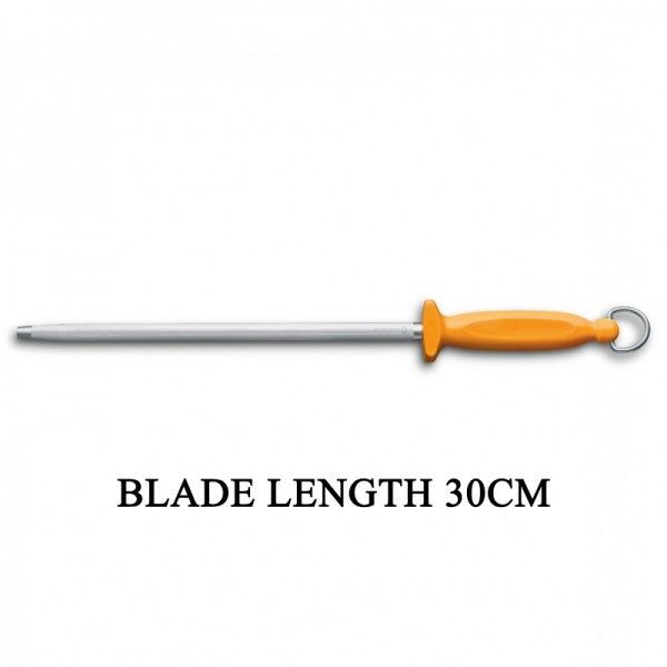Victorinox Swibo Round 30cm Butcher Sharpening Steel Kitchen Knife Sharpener 7.8515