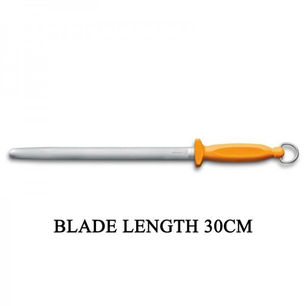 Victorinox Swibo Oval 30cm Butcher Sharpening Steel Kitchen Knife Sharpener 7.8516