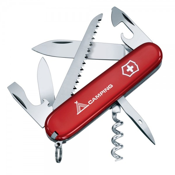 Victorinox Camper Red Multitool Pocket Knife 1.3613.71B1