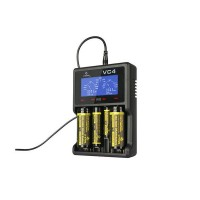 Xtar VC4 3.6V / 3.7v NiMh / Lithium-ion Li-ion USB Battery Charger