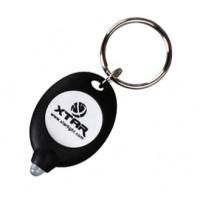 Xtar LED Keychain Keyring Light Flashlight - Black