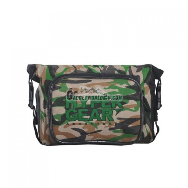 Hypergear Waist Pouch Medium Splashproof - Camo Green