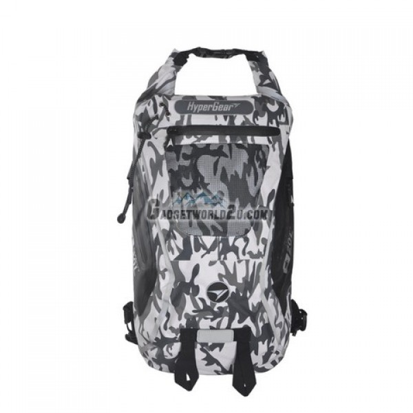 Hypergear Back Pack Dry Pac Tough 20 Liter - Camo White