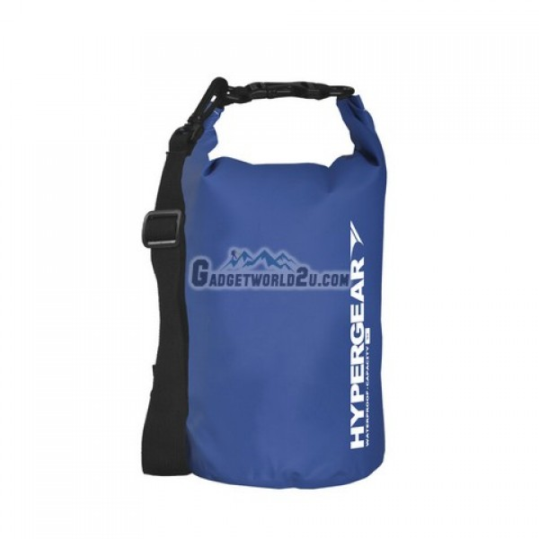 Hypergear Adventure Dry Bag Water Resistant 5 Liter - Blue