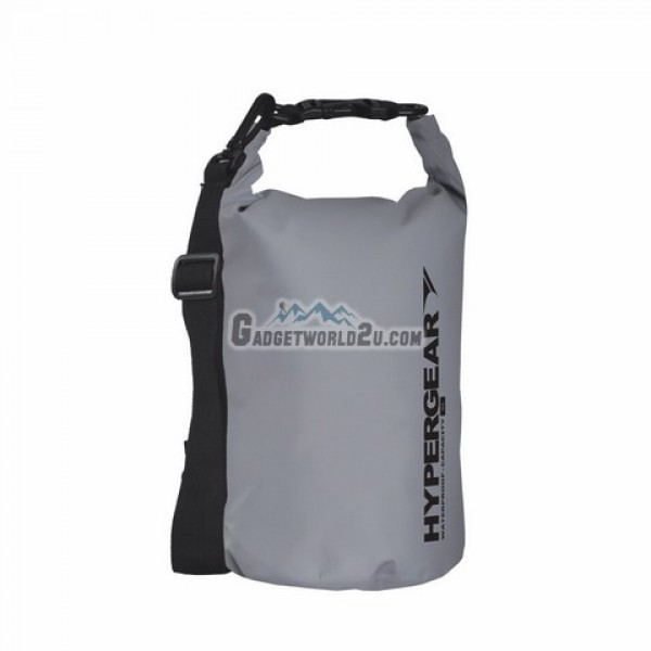 Hypergear Adventure Dry Bag Water Resistant 5 Liter - Grey