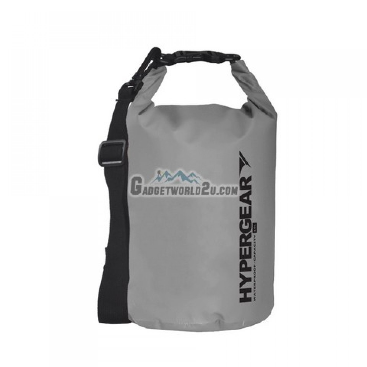 Hypergear Adventure Dry Bag Water Resistant 10 Liter - Grey