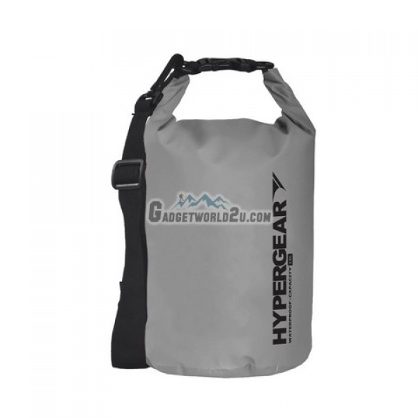Hypergear Adventure Dry Bag Water Resistant 10 Liter - Grey