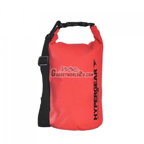 Hypergear Adventure Dry Bag Water Resistant 5 Liter - Red