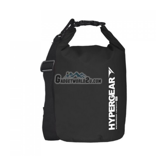 Hypergear Adventure Dry Bag Water Resistant 15 Liter - Black