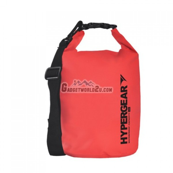Hypergear Adventure Dry Bag Water Resistant 15 Liter - Red