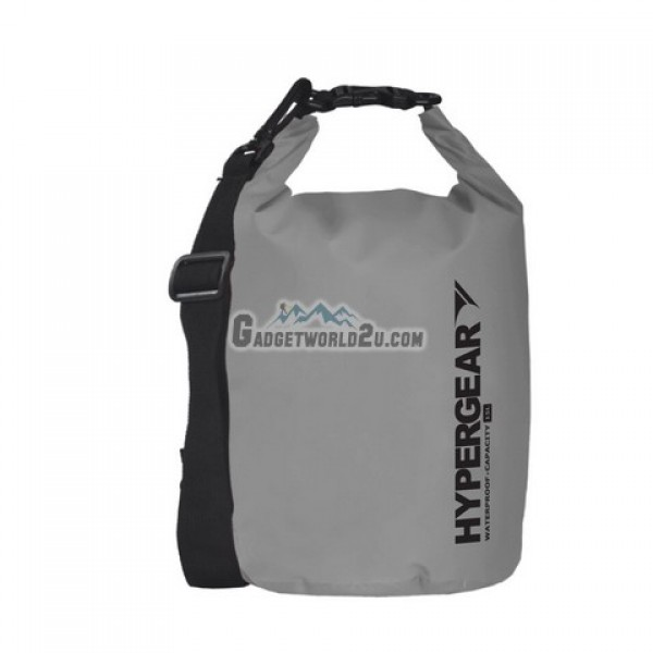 Hypergear Adventure Dry Bag Water Resistant 15 Liter - Grey