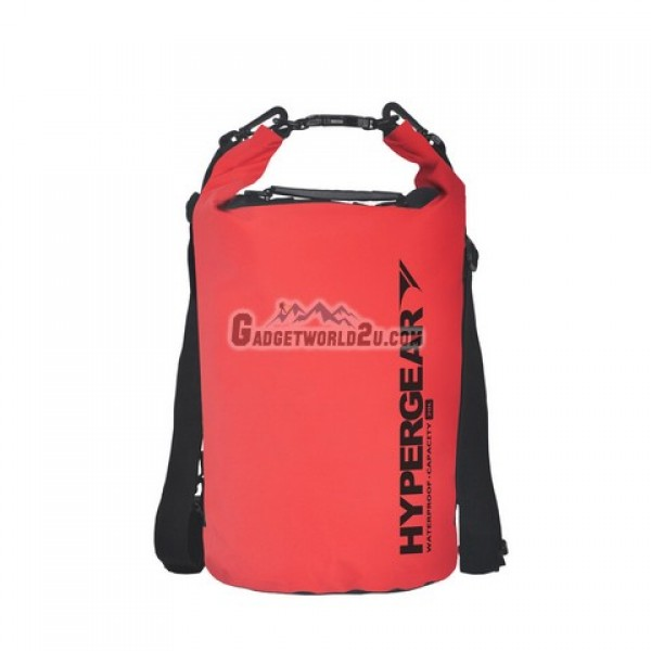 Hypergear Adventure Dry Bag Water Resistant 20 Liter - Red