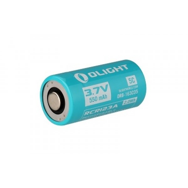 Olight Custom RCR123 / 16340 Li-ion Rechargeable Battery Olight S1R H1R