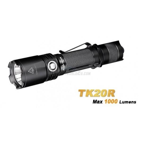 Fenix TK20R Rechargeable CREE XP-L HI V3 LED Flashlight w Battery