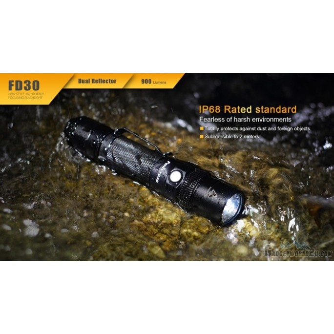 Fenix FD30 Focusable CREE XP-L HI LED Flashlight