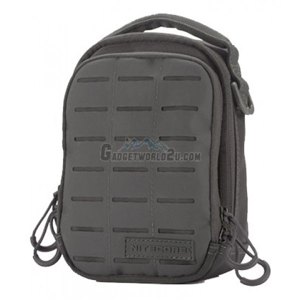 Nitecore NUP10 Cordura Molle Utility Pouch / Waist Pack / Sling Bag - Grey