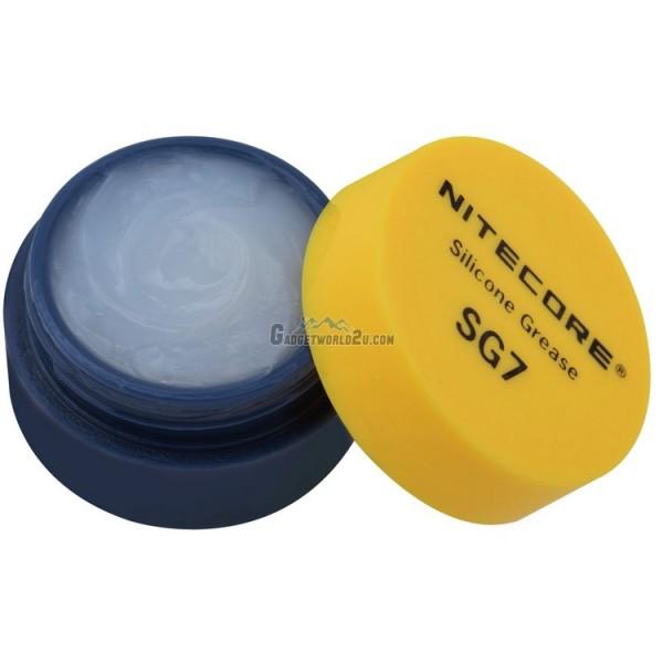 Nitecore Silicone Grease SG7 for Flashlights Maintenance (5g)