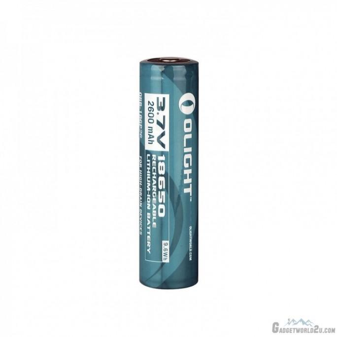Olight 18650 2600mAh 3.7V Li-ion Rechargeable Battery