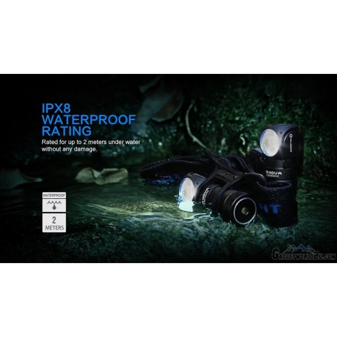 Olight H1R Nova Cool White CREE XM-L2 LED Clip Light Headlamp