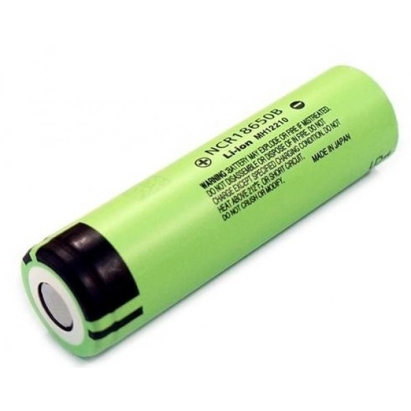 Panasonic NCR18650B / 18650 3400mAh 3.7V Li-ion Rechargeable Battery Flat Top