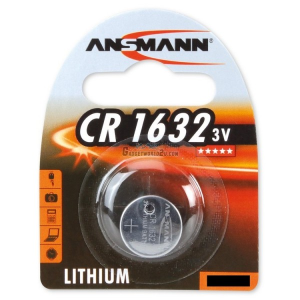 Ansmann CR1632 Lithium 3.0V Battery