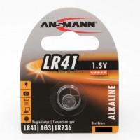 Ansmann LR41 / AG3 / LR736 Alkaline 1.5V Battery