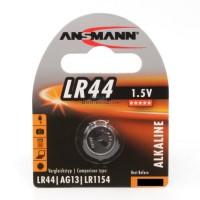 Ansmann LR44 / AG13 / LR1154 Alkaline 1.5V Battery