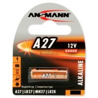 Ansmann A27 / 27A / LR27 / MN27 / L828 Lithium 3V Battery