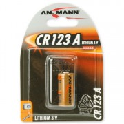 Ansmann Lithium 3V CR123 CR123A Primary Battery