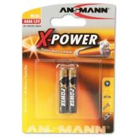 Ansmann 2pcs AAAA / LR8 / LR61 1.5V Alkaline Battery