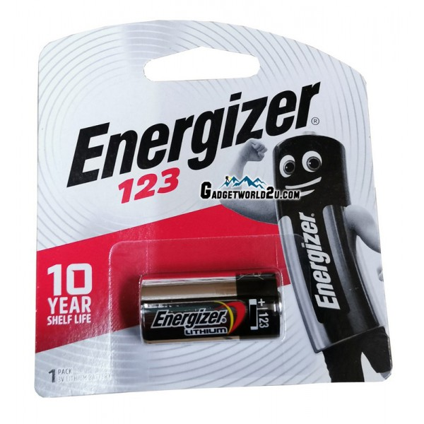 Energizer Primary CR123 / CR123A Lithium Battery