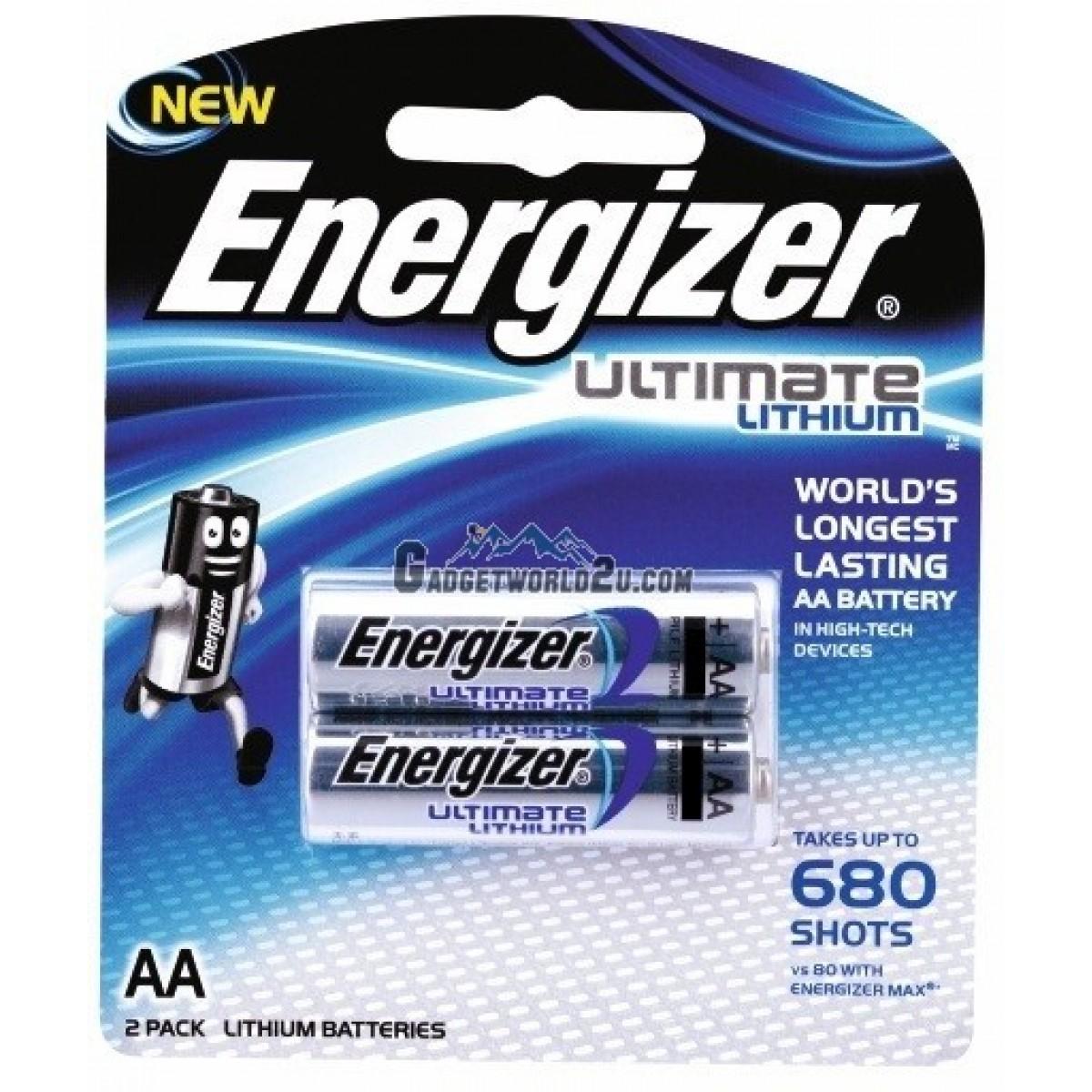Energizer Ultimate Lithium AA Battery 2pcs