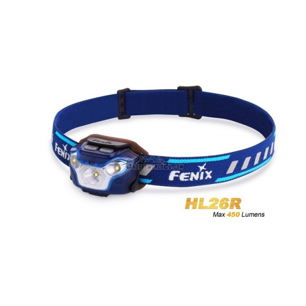 Fenix HL26R CREE XP-G2 R5 Rechargeable Headlamp - Blue