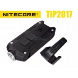 Nitecore TIP 2017 CREE XP-G2 LED Keychain Rechargeable Flashlight - BLACK