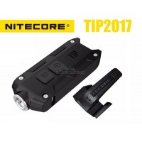 Nitecore TIP 2017 CREE XP-G2 LED Keychain Rechargeable Flashlight - BLACK