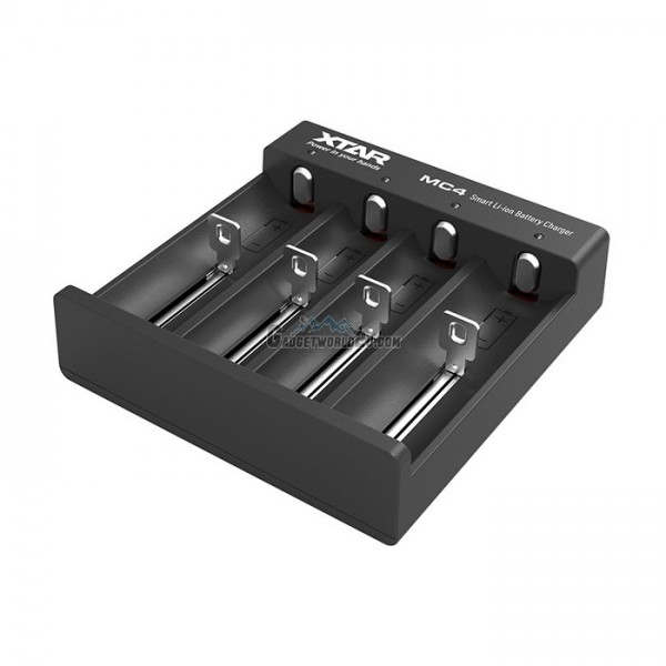 Xtar MC4 4-Bay Micro USB Li-ion Charger