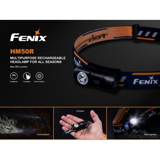 Fenix HM50R USB Rechargeable CREE XM-L2 U2 LED Headlamp