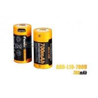Fenix 16340 RCR123 3.6V 700mAh Li-ion USB RechargeableBattery(ARB-L16-700U)