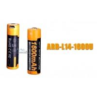 Fenix AA 1.5V Li-ion USB Rechargeable Battery (ARB-L14-1600U)
