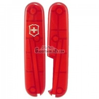 Victorinox 91mm Scale Handles Translucent Red