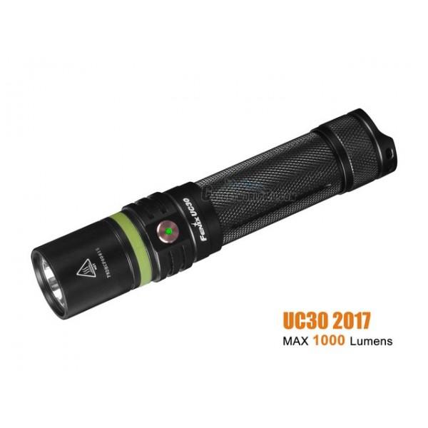 Fenix UC30 2017 CREE XP-L HI V3 Rechargeable Flashlight